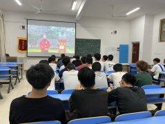 【建筑工程分院】组织观看党史答题直播现场