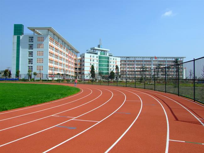 400米标准田径塑胶跑道