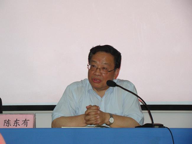 省委宣传部常务副部长陈东有