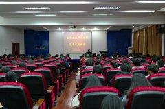 江西科技职业学院客座教授邓涛来校讲课