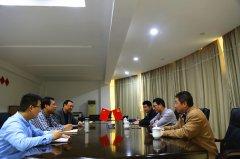 江西省民政学校领导一行来我院考察交流
