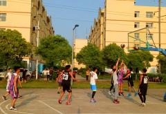 经济管理分院举办篮球比赛