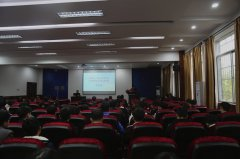 """江西科技职业学院举行""""江西:改革开放40年的发展成就""""主题宣讲"""